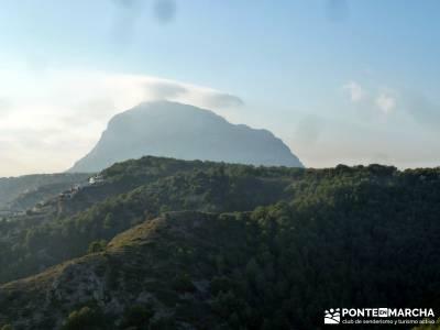 Parque Natural El Montgó y La Catedral del Senderismo;hacer trekking actividades singles madrid